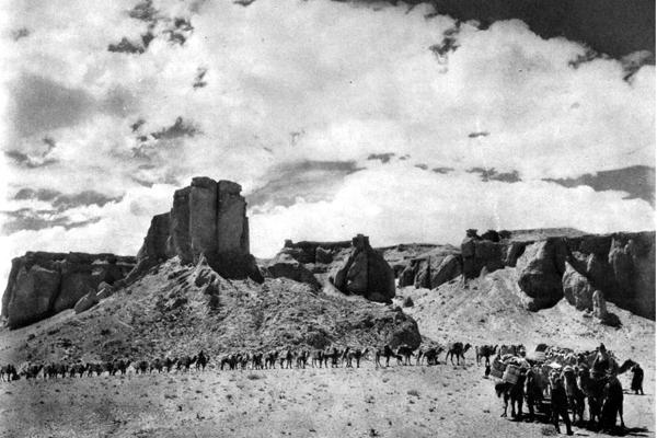 Roy Chapman Andrews Camel Caravan